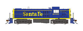 Bachmann RS-3 Touch-Screen E-Z App Santa Fe #2099 HO Scale Model Train Diesel Locomotive #68605