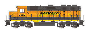 Bachmann EMD GP35 BNSF #2520 E-Z APP HO Scale Model Train Diesel Locomotive #68801