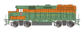 Bachmann EMD GP35 Great Northern #3021 with E-Z App HO Scale Model Train Diesel Locomotive #68803