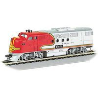 Bachmann FT-A E-Z APP Bluetooth Santa Fe #163 HO Scale Model Train Diesel Locomotive #68901