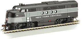 Bachmann FT-A E-Z APP Bluetooth New York Central #1600 HO Scale Model Train Diesel Locomotive #68902
