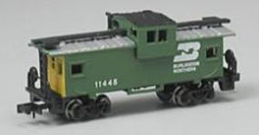 Bachmann 36 Wide-Vision Caboose - Burlington Northern N Scale Model Train Freight Car #70753