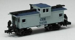 Bachmann 36' Wide Vision Caboose CSX N Scale Model Train Freight Car #70768