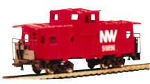 Bachmann 36 Wide Vision Caboose Norfolk & Western N Scale Model Train Freight Car #70792