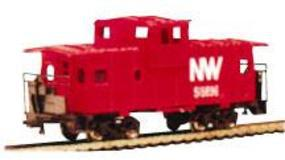Bachmann 36' Wide Vision Caboose Norfolk & Western N Scale Model Train Freight Car #70792