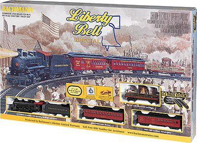 Bachmann Liberty Bell Special Train Set -- HO Scale Model Train Set -- #711