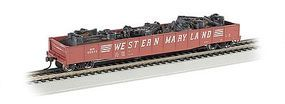 Bachmann ACF 50 6 Drop-End Gondola Western Maryland HO Scale Model Train Freight Car #71901