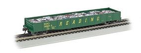 Bachmann ACF 50 6 Drop-End Gondola Reading HO Scale Model Train Freight Car #71904