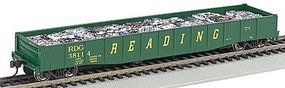Bachmann 506 Gondola w/Crushed Cars Reading #38114 HO Scale Model Train Freight Car #71906