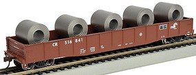 Bachmann 506 Gondola with Steel Coil Load Conrail HO Scale Model Train Freight Car #71909