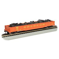 Bachmann 506 Gondola with Scrap Load Patapsco/Back Rivers HO Scale Model Train Freight Car #71910