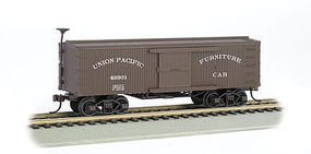 Bachmann Old-Time Box Car Union Pacific (Furniture Car) HO Scale Model Train Freight Car #72302