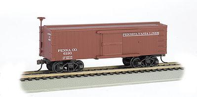 Old Time Box Car Pennsylvania Lines Ho Scale Model Train