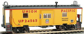 Bachmann HO Bay Window Caboose w/Roof Walk Union Pacfic (New Tool)