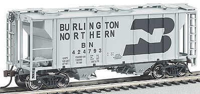 Bachman HO Scale Silver Series Rolling Stock Burlington Northern