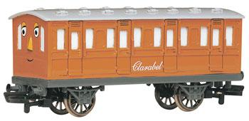 Bachmann Clarabel Passenger Car HO Scale Thomas-the-Tank Electric Car #76045