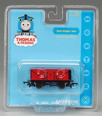 Bachmann Open Wagon Red HO Scale Thomas-the-Tank Electric Car #77037