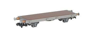 Bachmann Chuggington Flatcar -- HO Scale Model Train Freight Car -- #77103