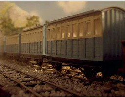 Bachmann HOn30 Blue Carriage
