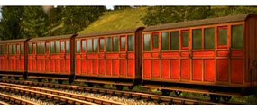 Bachmann HO Narrow Gauge Thomas & Friends Carriage (Red)
