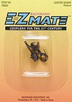 Bachmann E-Z Mate Knuckle Coupler Center Shank Med (12) HO Scale Model Train Coupler #78005