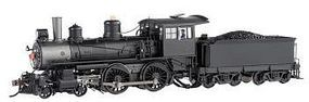 Bachmann Modern Baldwin 4-4-0 w/DCC Painted, Unlettered HO Scale Model Train Steam Locomotive #80101