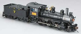 Bachmann Modern Baldwin 4-4-0 w/DCC Louisville & Nashville HO Scale Model Train Steam Locomotive #80102