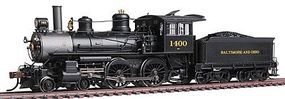 Bachmann Modern Baldwin 4-4-0 w/DCC Baltimore & Ohio #1400 HO Scale Model Train Steam Locomotive #80106