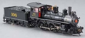 Bachmann Modern Baldwin 4-4-0 Seaboard Air Line #106 HO Scale Model Train Steam Locomotive #80129