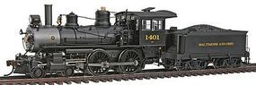 Bachmann Baldwin 4-4-0 w/Sound & DCC Baltimore & Ohio HO Scale Model Train Steam Locomotive #80131