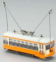 Bachmann Birney Safety Streetcar New York and Queens HO Scale Trolley and Hand Car #80204