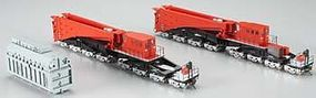 Bachmann Spectrum 380-Ton Schnabel Caar Red/Black HO Scale Model Train Freight Car #80503