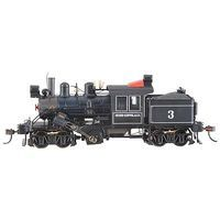 Bachmann 50 Ton 2 Truck Climax M Keppel HO Scale Model Train Steam Locomotive #80601