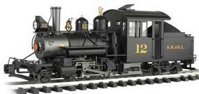 Bachmann 2-4-4 Forney Sandy River & Rangeley Lake #12 G Scale Model Train Steam Loco #80996