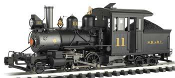 Bachmann Baldwin 2-4-4 Forney Sandy River & Rangley Lake #11 -- G Scale Model Train Steam Loco -- #80997