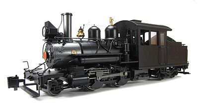 Bachmann Spec 2-4-4 Forney DCC Unlettered Outside Frame -- G Scale Model Train Steam Locomotive -- #80998