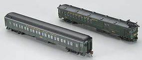 Bachmann EMC Gas Electric Doodlebug Coach Trailer B&O N Scale Model Train Passenger Car #81466