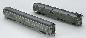 Bachmann EMC Gas Electric Doodlebug Coach Seaboard Air Line N Scale Model Train Passenger #81469