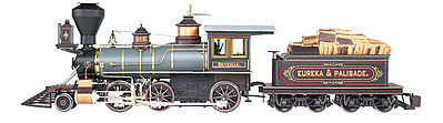 Bachmann 2-6-0 DCC Eureka & Palisade -- G Scale Model Train Steam Locomotive -- #81487