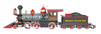 Bachmann 2-6-0 DCC Grizzly Flats -- G Scale Model Train Steam Locomotive -- #81489