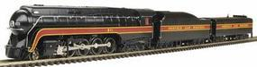 Bachmann N&W Class J 4-8-4 Railfan #611 N Scale Model Train Steam Locomotive #82154