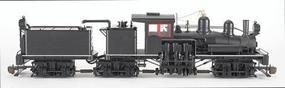 Bachmann 3-Truck Shay w/DCC Painted, Unlettered G Scale Model Train Steam Locomotive #82498