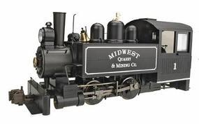 Bachmann Porter 0-4-0T Side Tank Midwest Quarry & Mining G Scale Model Train Steam Locomotive #82597