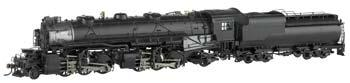 Bachmann Spectrum(R) Steam CandO H-4 2-6-6-2 Articulated w/Vandy VC12 Tender and DCC -- Painted, Unlettered - HO-Scale