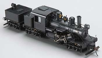 Bachmann 3 truck 70 ton climax dcc painted unlettered ho scale