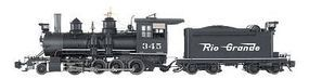 Bachmann Class C-16 2-8-0 w/Short Tender Denver & RGW G Scale Model Train Steam Locomotive #83194