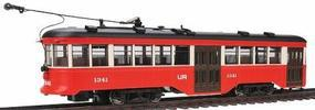Bachmann Peter Witt Streetcar w/DCC St. Louis Railways HO Scale Model Hand Car and Trolley #84606