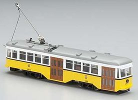 Bachmann Peter Witt Streetcar San Francisco Municipal Rail HO Scale Model Hand Car and Trolley #84610