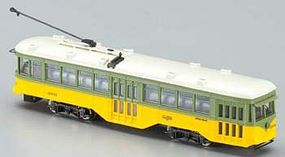 Bachmann Peter Witt Streetcar w/DCC Los Angeles Railway N Scale Model Hand Car and Trolley #84655
