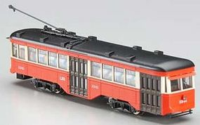 Bachmann Peter Witt Streetcar w/DCC St. Louis Railways N Scale Model Hand Car and Trolley #84656
